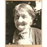 S14KGG 001118 - Marie Elg, hemmafiskare och fårklippare