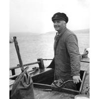 S14KGG 001111 - Ivar Vineberg, tulltjänsteman, badbåtsskeppare