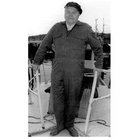 S14KGG 001107 - Folke Benjaminsson, fiskare, badbåtsskeppare